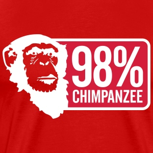 98 Chimpanzee - Men's Premium T-Shirt