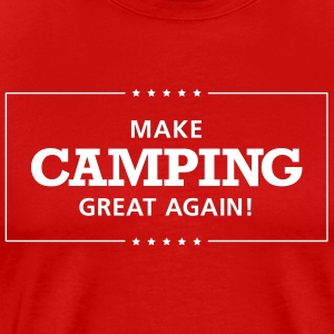 Machen Sie Camping Great Again With Stars - Männer Premium T-Shirt