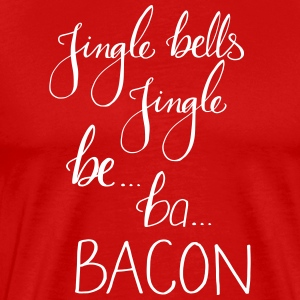 JingleBacon - Premium T-skjorte for menn