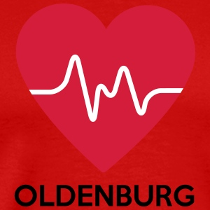 heart Oldenburg - Men's Premium T-Shirt