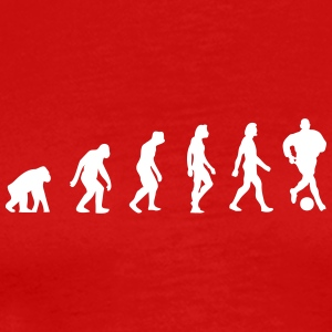 The Evolution Of Football - Men's Premium T-Shirt