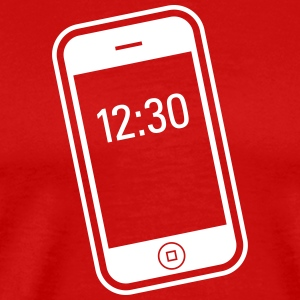 IPhone / Smartphone - Premium-T-shirt herr