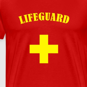Lifeguard - Premium T-skjorte for menn