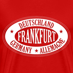 Germany city FRANKFURT - Männer Premium T-Shirt