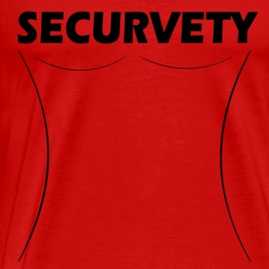 Securvety - Sexy Curvy sikkerhed. - Herre premium T-shirt