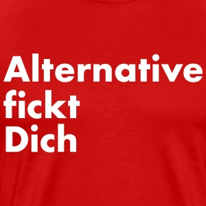 Anti AfD - Alternative f. Dich - Männer Premium T-Shirt