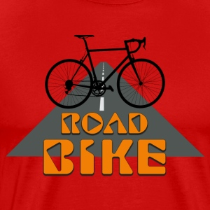 Road Bike - Herre premium T-shirt
