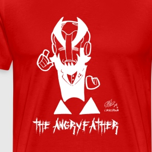 AF ANGRYFATHER - Herre premium T-shirt