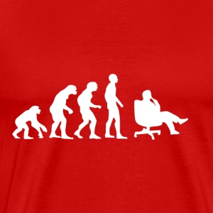 Evolution Business, Office, Chef, Armchair - Men's Premium T-Shirt