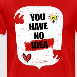 NO IDEA - Men's Premium T-Shirt