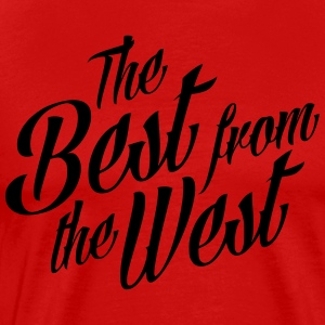 the best from the west - Men's Premium T-Shirt