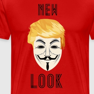 New Look Transparent / Anonyme Trump - T-shirt Premium Homme
