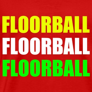 Floorball - Men's Premium T-Shirt