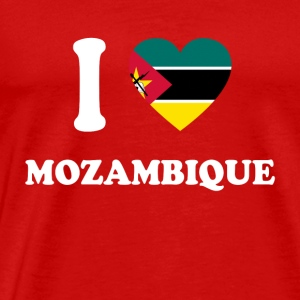 i love home gift country MOZAMBIQUE - Men's Premium T-Shirt