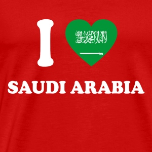 i love home gift land SAUDI ARABIA - Men's Premium T-Shirt
