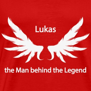 Lukas the Man behind the Legend - Men's Premium T-Shirt