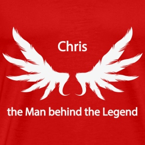 Chris Man Behind the Legend - Premium-T-shirt herr