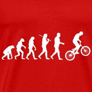 Bicycle Cyclist BMX Mountainbike Downhill - Men's Premium T-Shirt