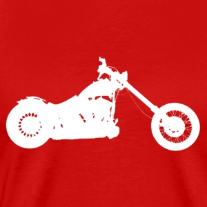 softail chopper - Mannen Premium T-shirt