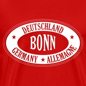 Germany city BONN - Männer Premium T-Shirt