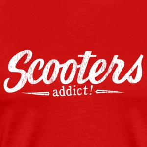 Scooters addict ! - T-shirt Premium Homme