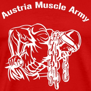 Austria Muscle Army - Men's Premium T-Shirt