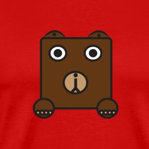 bearly - Premium-T-shirt herr