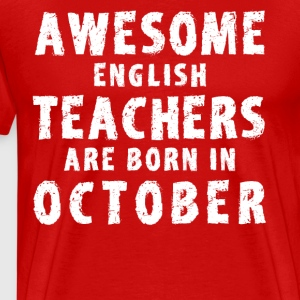Shop english teacher t shirts online spreadshirt - Awesome englisch ...