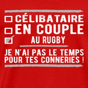 singles in rugby union - Men's Premium T-Shirt