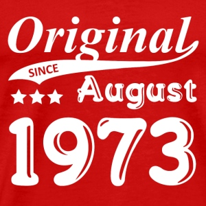 Original Since August 1973 gift - Men's Premium T-Shirt