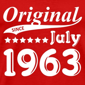 Original Since July 1963 gift - Men's Premium T-Shirt