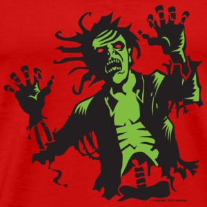 Zombie Attack - Men's Premium T-Shirt