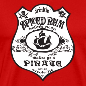 pirate logo - Men's Premium T-Shirt