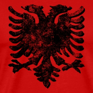 Retro Albanian Eagle - Men's Premium T-Shirt