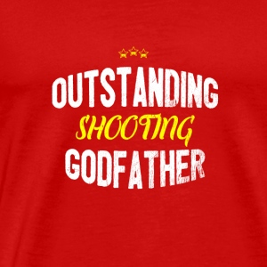 Distressed - OUTSTANDING SHOOTING GODFATHER - Men's Premium T-Shirt
