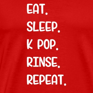 Eat Sleep K Pop Rinse Repeat - Men's Premium T-Shirt