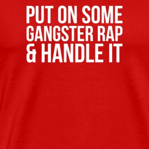 Gangster Rap - Premium T-skjorte for menn