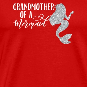 Grand mor Mermaid - Premium T-skjorte for menn