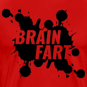 Brain Fart - Premium T-skjorte for menn