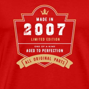 Made In 2007 Limited Edition All Original Parts - Men's Premium T-Shirt