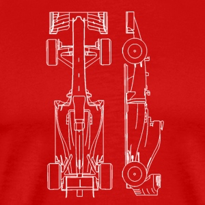 F1 car - Men's Premium T-Shirt
