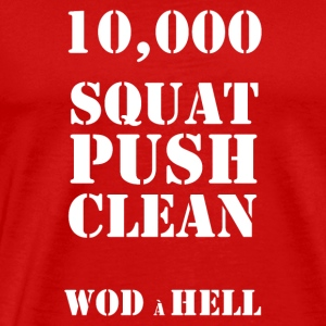 WOD à HELL - Men's Premium T-Shirt