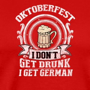 I will be German / Oktoberfest - Men's Premium T-Shirt