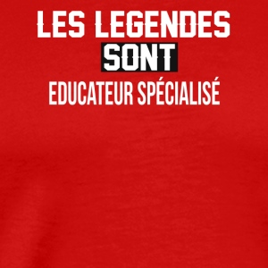 Educateur spe cialise - T-shirt Premium Homme