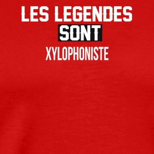 Xylophoniste - T-shirt Premium Homme