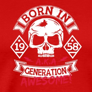 10 born in 58 - Men's Premium T-Shirt