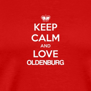 Keep Calm and Love OLDENBURG - Men's Premium T-Shirt