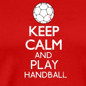 Keep calm and play handball - Men's Premium T-Shirt