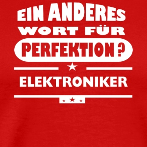 Electronics Other word for perfection - Men's Premium T-Shirt