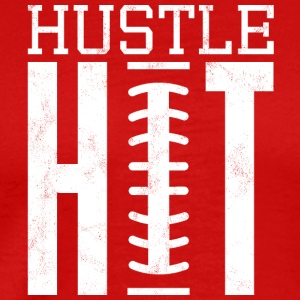 Super Bowl / Football: Hustle Hit - Men's Premium T-Shirt